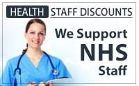 Health Staff Discount - We support NHS staff